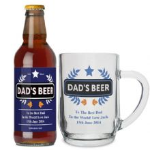 Blue Wheat Beer & Tankard Set